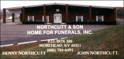Northcutt & Son Home for Funerals, Inc. - Morehead, Kentucky