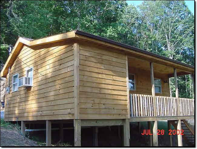 Our Honeymoon Cabin   Kentucky