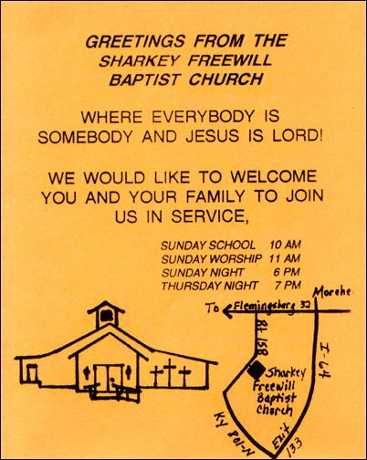 Sharkey Freewill Baptist Church - Sharkey, Kentucky
