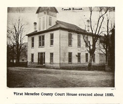 Firstmenefee county court house