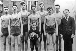 Salt Lick High School Basketball Team, 1938